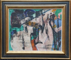 Early Abstract 1926 - Scottish Abstract art modernist oil painting