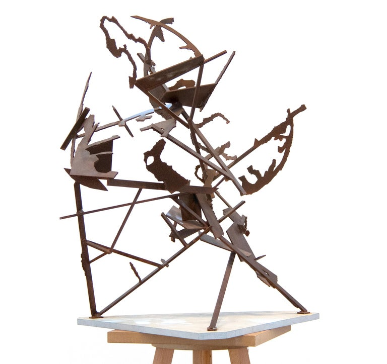 World on its Hind Legs - Contemporary Sculpture by William Kentridge