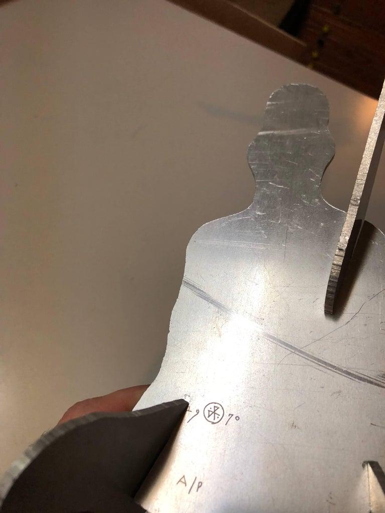 The Test, Assembled Kinetic Modernist Sculpture Puzzle Construction For Sale 1