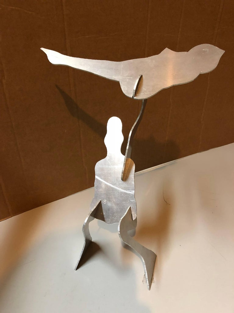 William King (b.1925) Figurative Sculpture - The Test, Assembled Kinetic Modernist Sculpture Puzzle Construction