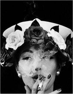 Hat and 5 Roses, Paris Vogue