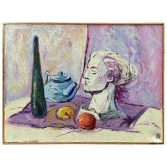 William Krasnoborski Still Life No. 2 Purple Painting