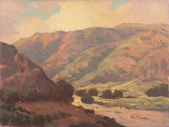 'California Hills, Lilac and Rose', Palm Springs, Golden Gate Exhibition, LACMA
