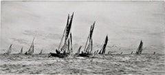 Fishing Boats off Ryde.