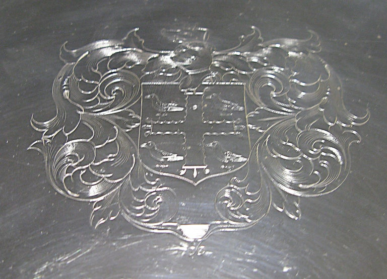 William and Mary William & Mary Antique Silver Tazza  For Sale