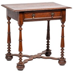 William & Mary Side Table