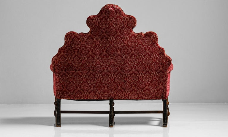 William and Mary William & Mary Style Sofas, England, circa 1890 For Sale