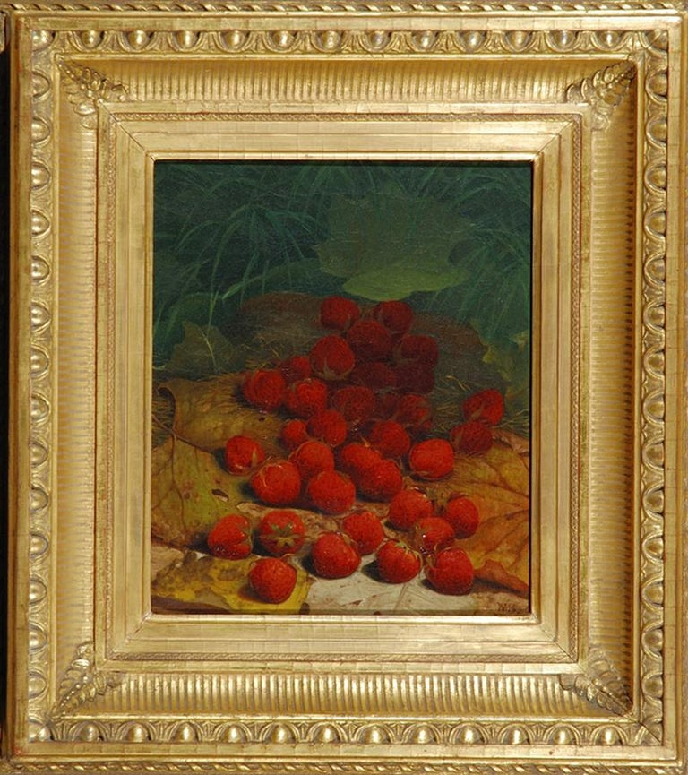 Strawberries Strewn on a Forest Floor For Sale 3
