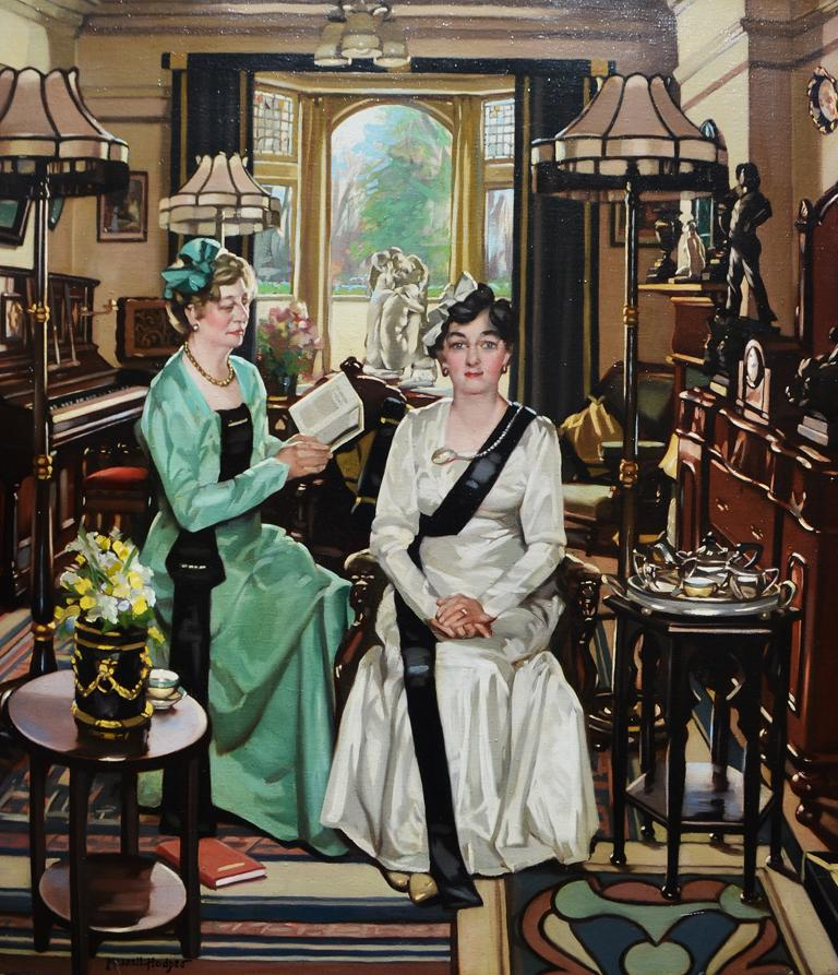 William Merrett Hodges Interior Painting - The Suffragettes