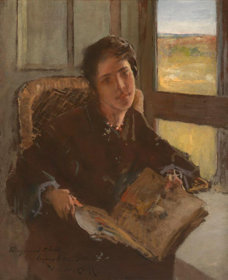 William Merritt Chase Interior Painting - Alice Dieudonnee Chase, Shinnecock Hills (the artist's daughter)