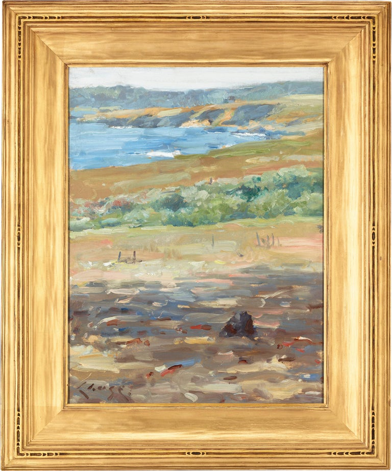 Coastal Landscape, California (Carmel-by-the-Sea) - Painting by William Merritt Chase