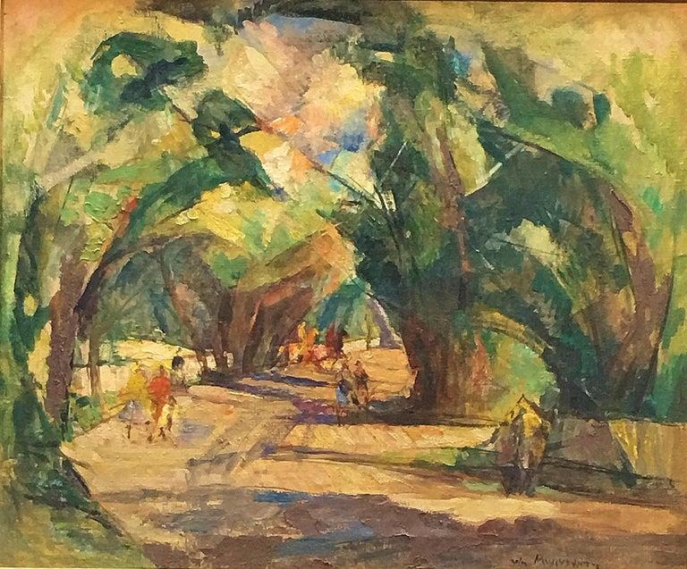William Meyerowitz Landscape Painting - Shady Lane