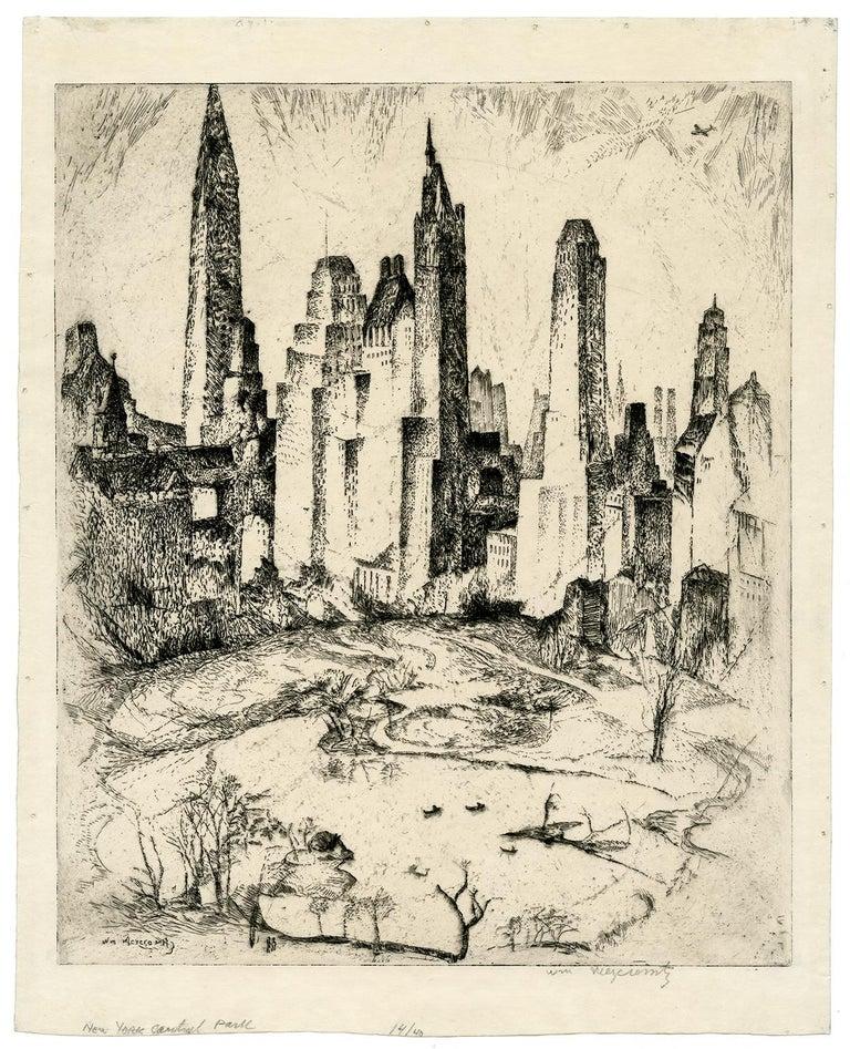 New York, Central Park - Print by William Meyerowitz