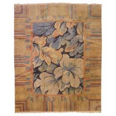 William Morris Floral Area Rug