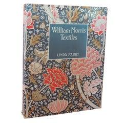 William Morris Textiles Vintage Hard-Cover Decorative Book by Linda Parry