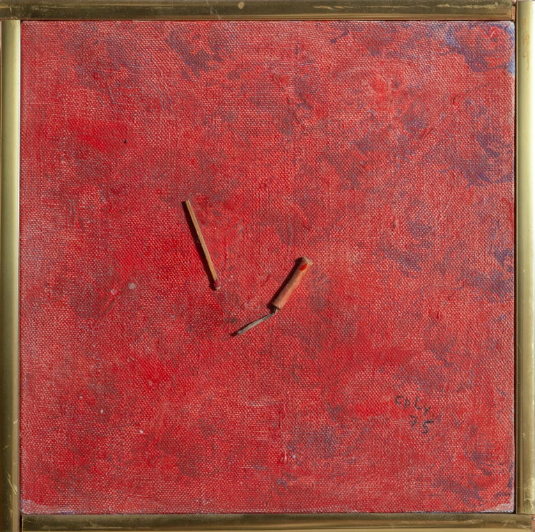 William Nelson Copley Abstract Painting - Firecracker