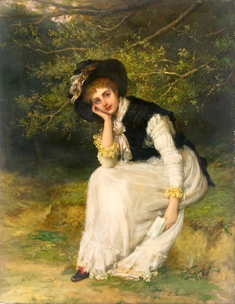 19th Century Academic Portrait of a Woman,