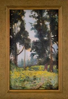 Through the Trees Landscape William Otto Emerson
