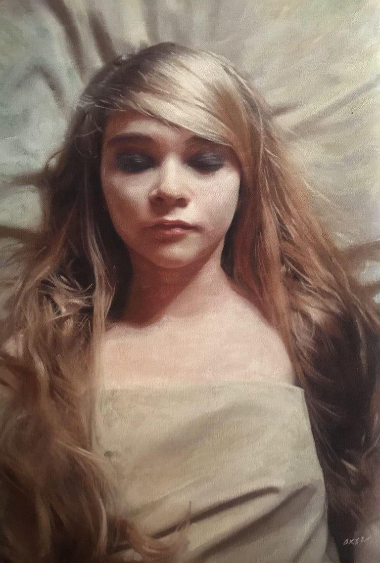 """Oil on Canvas framed to Guild of Framers Specialist in Exeter, to the highest standard. Size is 20""""x14"""" plus frame size - for this simply add approximately 3"""" all round. Framed by Southgate Gallery Exeter. Framing is undertaken once the artwork is"""