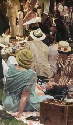 Summer Party I, Painting, Oil on Canvas