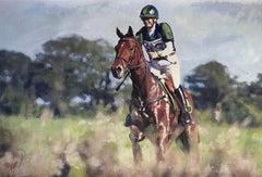 The Jockey, Painting, Acrylic on Canvas