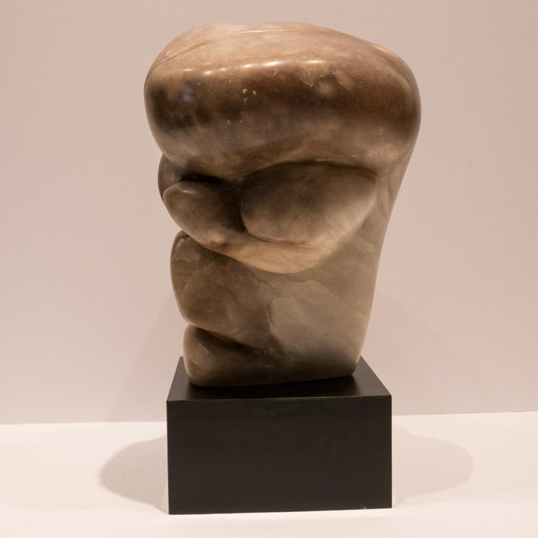 Mid-Century Modern William P Katz Abstract Marble Sculpture For Sale