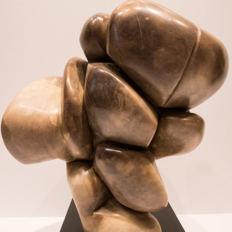 William P Katz Abstract Marble Sculpture For Sale 1
