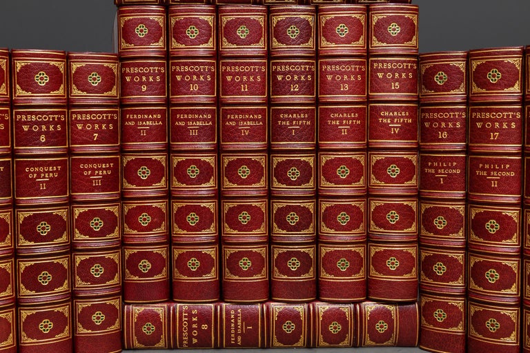 William Prescott, The Works In Good Condition For Sale In New York, NY