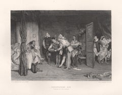 Christopher Sly (Taming of the Shrew), William Shakespeare play engraving