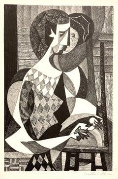 (Cubist Figure)