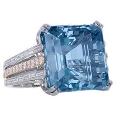 Platinum Cocktail Rings