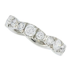 William Rosenberg Platinum Diamond Eternity Ring