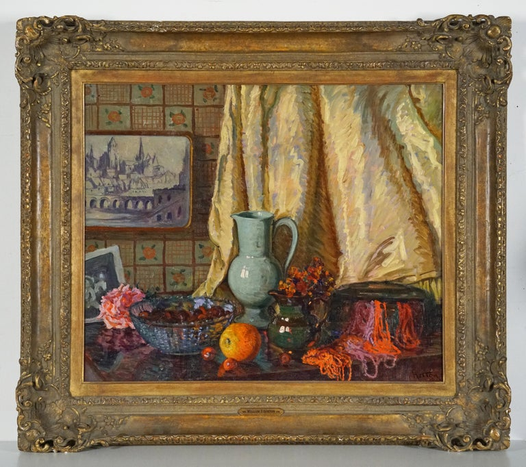 Still Life - Painting by William Samuel Horton
