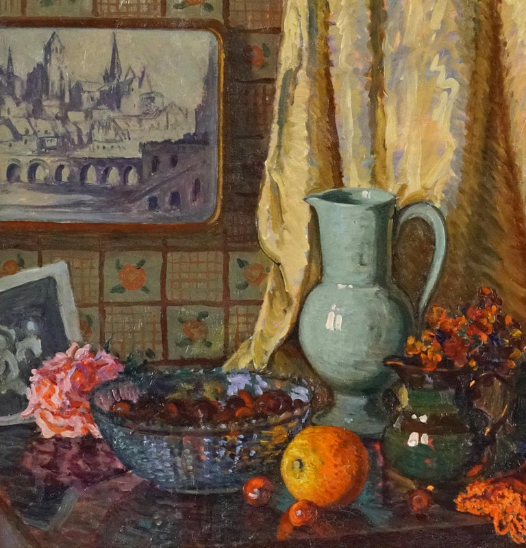 Still Life - American Impressionist Painting by William Samuel Horton