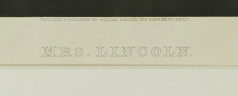 Portrait of Mrs. Lincoln - Black Portrait Print by William Sartain
