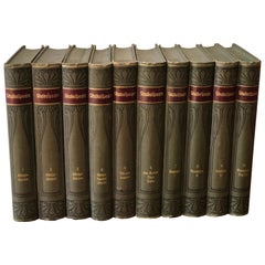 William Shakespeare Dramatic Works, Complete 10 Volumes, Leipzig and Vienna