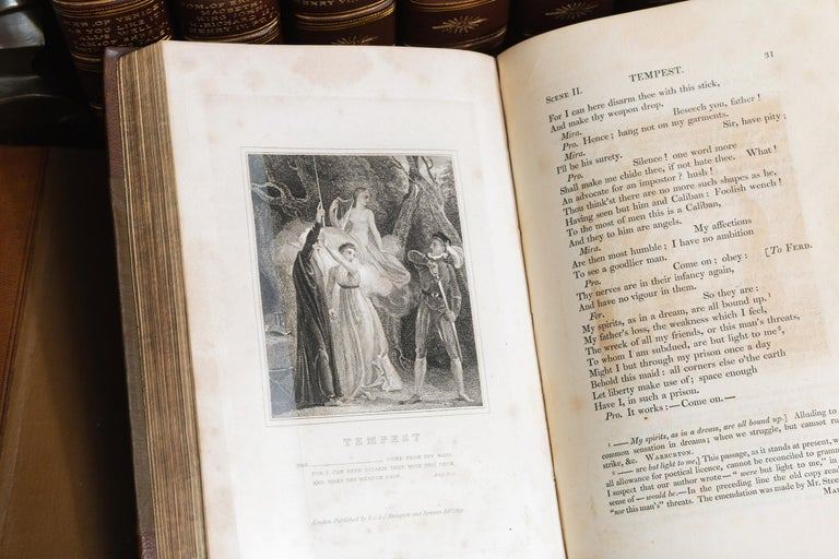 Early 19th Century William Shakespeare, The Plays, A History Of The Stage For Sale