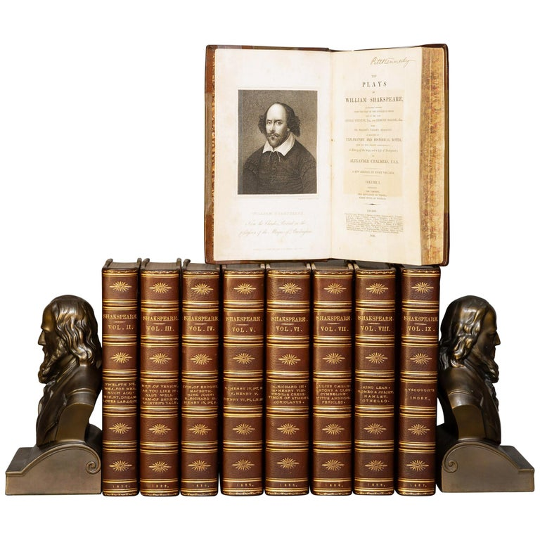 William Shakespeare, The Plays, A History Of The Stage For Sale