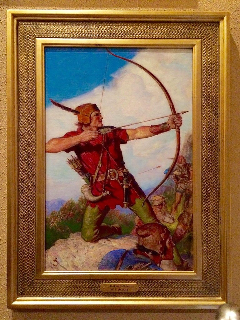 Robin Hood - Painting by William Soare