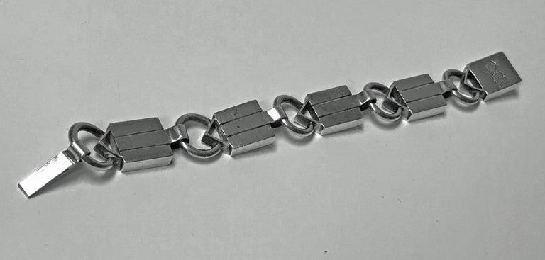 William Spratling 1949-1951 Sterling Silver Bracelet For Sale 2