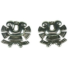 William Spratling Sterling Dress Clips