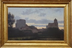 Landscape Painting of a German view by William Stanley Haseltine
