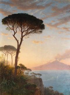 Vesuvius at Dusk