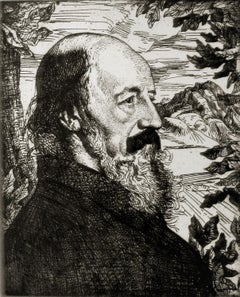 Portrait of Alfred, Lord Tennyson