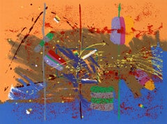A New Deal, Abstract Serigraph by Bill Taggart
