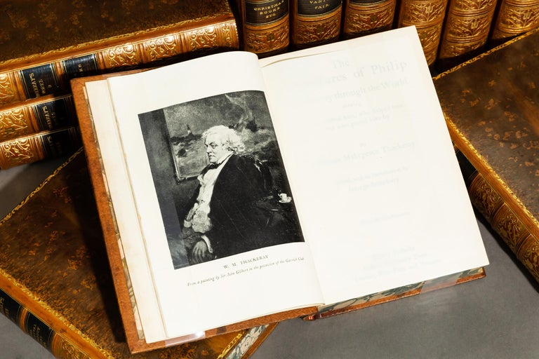 William Thackeray, Complete Works In Good Condition For Sale In New York, NY