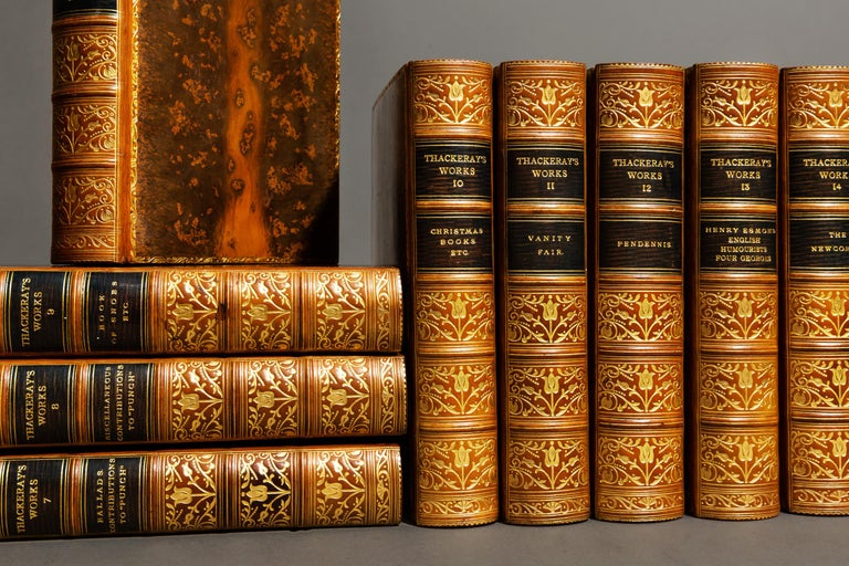Leather William Thackeray, Complete Works For Sale