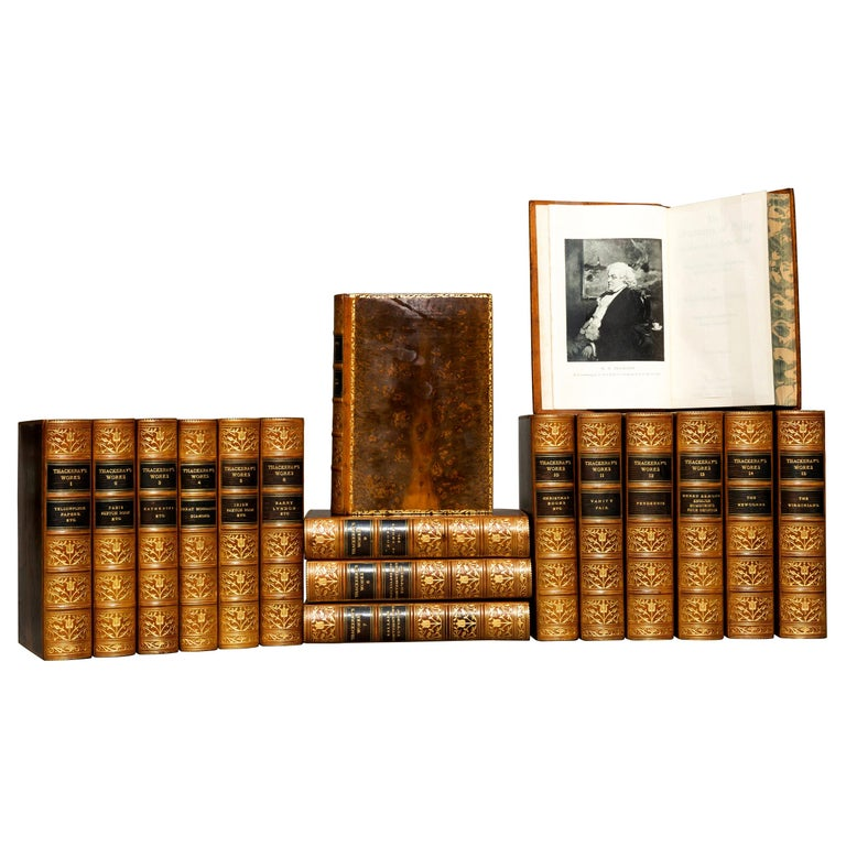 William Thackeray, Complete Works For Sale