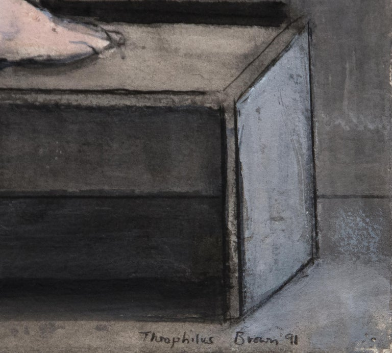 Untitled - Post-War Painting by William Theophilus Brown