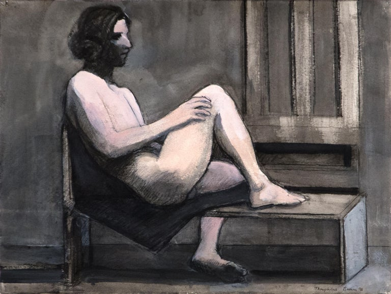 William Theophilus Brown Nude Painting - Untitled